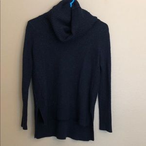 Tahari Wool Blend Cowl Neck Hi Lo Sweater Small